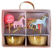 Unicorn Decorazioni per Cupcake Casi & Cake Lusso Festa Decorazioni Meri Meri 24