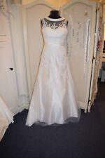 ivory lace wedding dress size 12