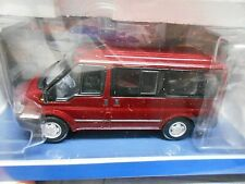 FORD Transit L1H1 rot red Fenster Bus Van  2000 - 2006 SonderPR Minichamps 1:43