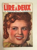 Revista Para Leer A Deux Numéros 49 Junio 1938
