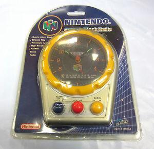 Nintendo 64 AM/FM Clock Radio