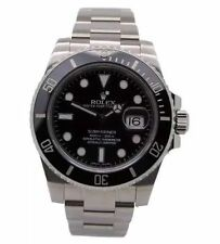 Rolex Sport Stainless Steel Strap Wristwatches
