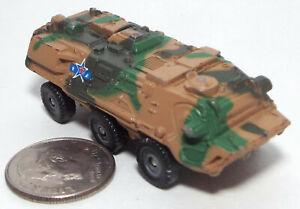 Small  Micro Machine Plastic Military Fuch 6X6 APC in Desert Camouflage