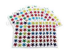 700X Star Shape Stickers For School Children Teacher Reward DIY Craft Hot NEW UK