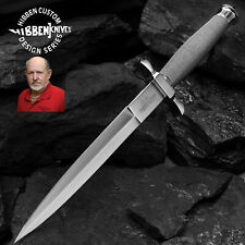 """12"""" Gil Hibben Wire Wrapped Shadow Dagger Knife Medieval Fantasy Hunting Sharp"""