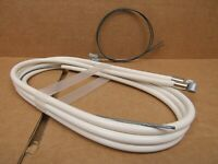 New-Old-Stock Casiraghi MTB Brake Cable/Housing Set - White