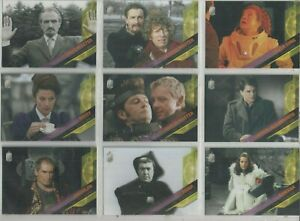 """Dr. Who Timeless Set of 10 Trading Cards """"Time Travellers"""""""