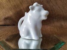 Harold Import Co (Hic) Mini White Cow Ceramic Creamer c2