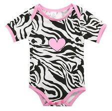 Infant Baby Boy Girl Clothes Bodysuit Romper Jumpsuit Playsuit Outfits US Stock