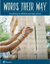 Words Their Way Vocabulary for Middle & High School Student Edition Volume 2