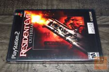 Resident Evil: Outbreak CANADA Ver. (PlayStation 2 PS2) FACTORY SEALED! - EX!