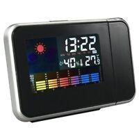 Orologio digitale con schermo LED sveglia temperatura umidita' proiezione s Y3C6