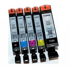 5 pack GENUINE Canon PGI-270 CLI-271 Setup Ink Cartridges TS6020 TS8020 TS9020
