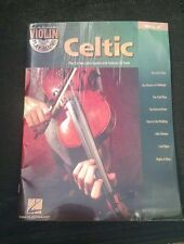 Celtic: Violin Play-along: Vol 4 Author: Hal Leonard Corp. With New Cd