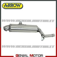 Pot D'Echappement Arrow Enduro 4T Acier Suzuki Dr 600 R / S 1985 85