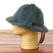 Vintage 1980s Jordache Safari Bucket Hat Acid Washed Denim NOS Deadstock L