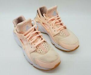 Nike Air Huarache Women's Running Shoes 'Sunset Tint' Peach 634835-607 Size 8