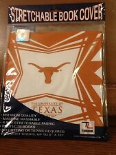 Turner Licensing Stretchable Book Cover Univ Of Texas At Austin Longhorns NWT