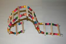 """JK013 Small Flex Ladder for Small Bird Climbing 4 1/2"""" x 24"""""""