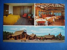 LES PINS DELUXE MOTEL GOLF COURSE NEARBY GRANBY QUEBEC CANADA VINTAGE POSTCARD