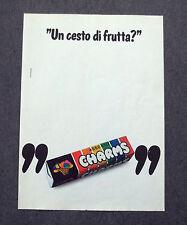G466 - Advertising Pubblicità - 1980 - CARAMELLE CHARMS ASSORTITE