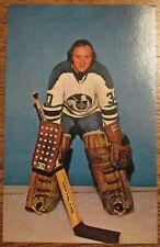 CLEVELAND CRUSADERS WHA POSTCARD Gerry Cheevers signed POST CARD Autograph