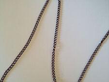 1 mt catenina ovale marrone-violetto 5 x 3 mm bigiotteria
