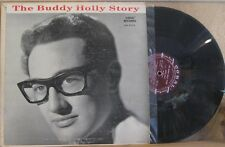 BUDDY HOLLY, THE STORY - LP CRL 57279 W/ RED WRITING