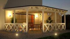 Terrassendach 6.45 x 4.30 mit 33% Onlinerabatt Terrassenüberdachung ab Werk