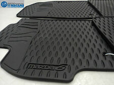MAZDA 6 2009-2013 NEW OEM SET OF FOUR ALL WEATHER FLOOR MATS 0000-8B-H50