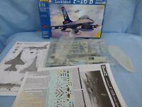 REVELL 1:72 LOCKHEED F-16 B Twin Seater Fighting Falcon Military US Aircraft Kit