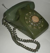 PHONE NORTHERN TELECOM NORTEL DIAL VINTAGE RARE GREEN TESTED TABLETOP TELEPHONE