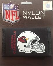 NEW ARIZONA CARDINALS NYLON TRIFOLD WALLET BILLFOLD NFL LICENSED