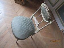 Exceptionnelle chaise ancienne de château Louis XVI