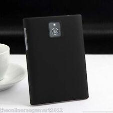 Premium Black Hybrid Rubberised Hard Back Cover,Case,for Blackberry Passport