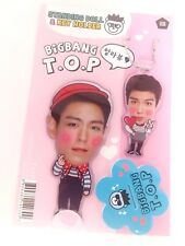 TOP Big Bang Bigbang Photo Standing Doll Key Holder Set KPOP Korean Pop Star
