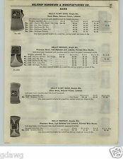 1922 PAPER AD Kelly Flint Edge Axe Axes Perfect Blue Grass Hunters' Cyclone