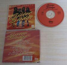 CD ALBUM SISTER SLEDGE LIVE IN CONCERT 9 TITRES 1993