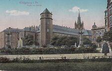 O 358 -Königsberg, Partie am Schloß, 1916 gelaufen