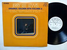 JERRY LEE LEWIS Original Golden Hits Vol.2 LP Promo COUNTRY Rock N Roll   Lc243