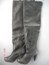 """Ladies Grey Boots """"ISABELLE""""  by """" J SHOES""""  size 8 New"""
