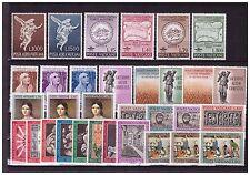 s15526) VATIKAN MNH 1962/63, Komplett Year set 1962 + 2 legt fest 1963 - 38v