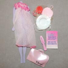 Barbie Celebrity 1980s Doll Clothes Super Model Cheryl Tiegs Accessories Nrfp