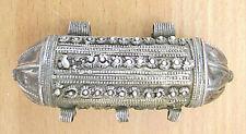 Judaica Yemenite Antique filigree silver kabbalistic kamea amulet pendant 18 gr