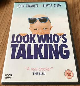 Look Who's Talking DVD (2004) John Travolta Cert 12 Region 2 UK Amazing Value