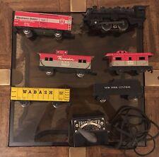 Stream Line Marx Electric Train Set - New York Central Train With Box No.4822