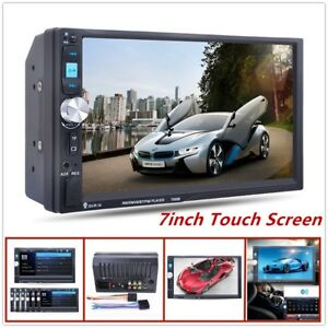 Black 7 inch Touch Screen Bluetooth HD Screen Car Stereo Radio MP5/MP3 Player