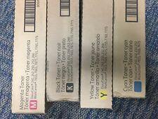 Xerox Toner set Docucolor 252 CMYK, Cyan, Magenta, Yellow and Black