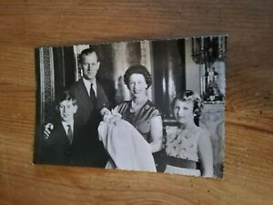 1960 The Royal family black and white photograph