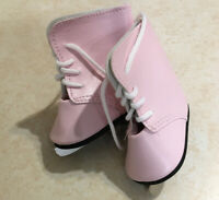 "Accessories for 18"" Dolls New Pink Ice Skates"